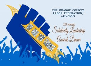 17th Annual Solidarity Leadership Awards Dinner @ Anaheim Convention Center | Anaheim | California | United States